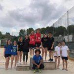 Il podio Under 19 femminile 2019