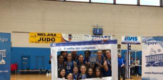 Selfie dei campioni Under 12 Polisportiva San Bortolo