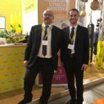 Il Direttore Silvio Parizzi e il Presidente Carlo Salvan di Coldiretti Rovigo