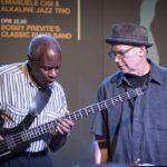 Jerome Harris e Wayne Horvitz (Foto: Tommaso Rosa)