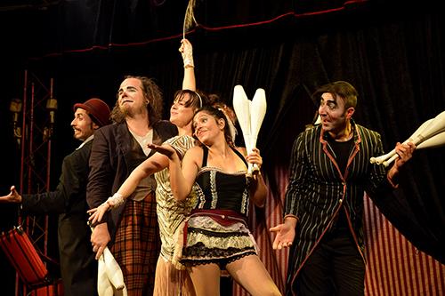 Circo Patuf vi attende con la magica atmosfera di Cabaret la plume