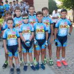 Gli atleti del Gruppo Ciclisti Bosaro Emic