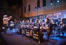 La Venezze Big Band sul palco del giardino di Palazzo Casalini (Foto: Tommaso Rosa)