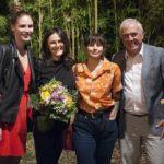 Premio Tamburini 2019 - Lorenzo Liviero con la famiglia Tamburini (Foto: Tommaso Rosa)