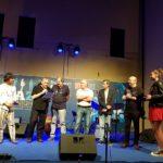 Premio Tamburini 2019 Il premio è stato consegnato quest'anno ai musicisti vincitori dalla più giovane figlia di Marco, Camilla Tamburini (Foto: Chiara Paparella)