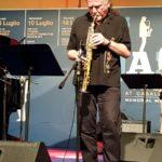 Premio Tamburini 2019 Il sassofonista italo argentino Javier Girotto (Foto: Chiara Paparella)