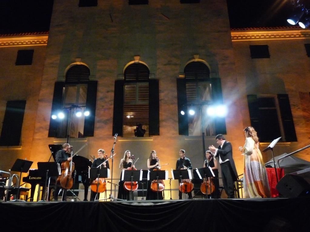 Polesella, i violoncellisti di Rovigo Cello City