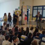 Il saluto nella scuola di Grignano Polesine