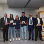 La premiazione di Ludovica Franzoso e il team Torneo delle Regioni di beach volley Under 18