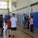 Il saluto di Tovo agli alunni della Scuola Media Riccoboni di Rovigo