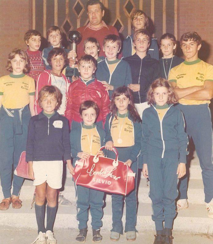 Arturo Ponzetti ed alcuni atleti